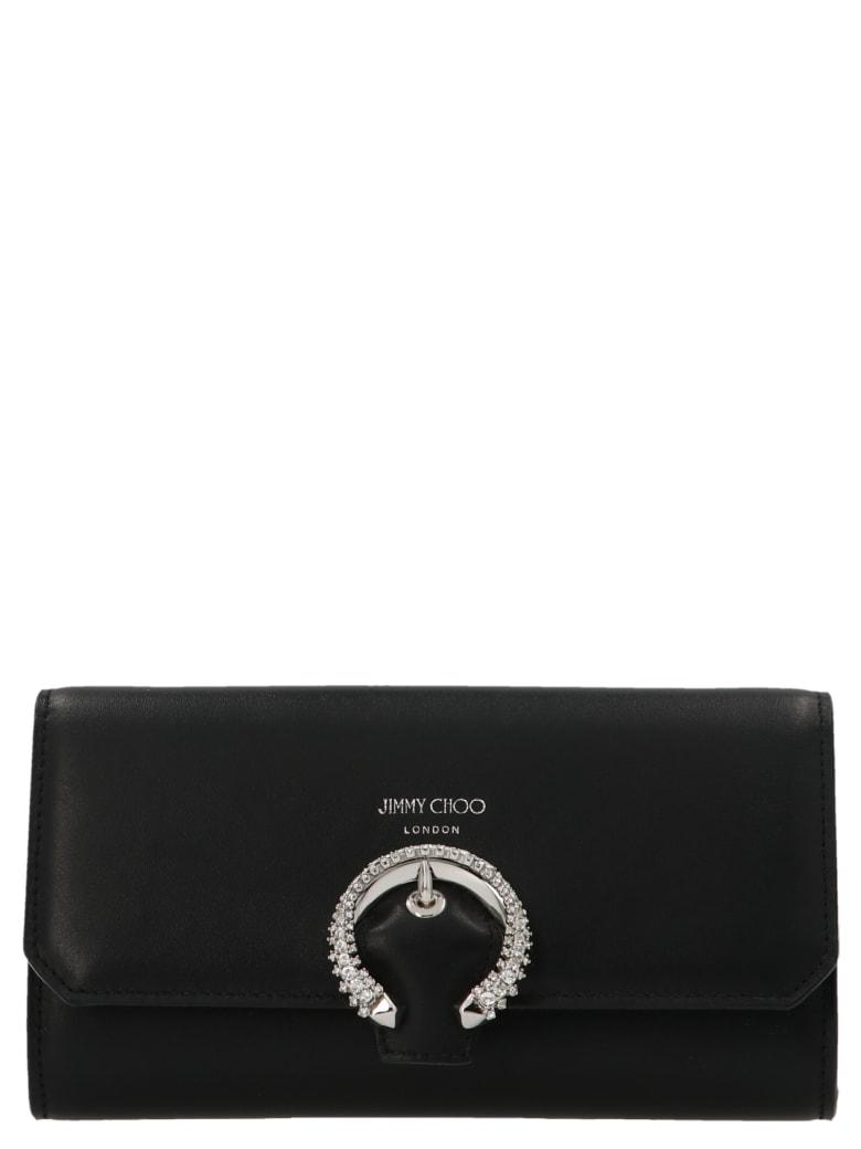 Jimmy Choo 'wallet On Chain' Bag - Black