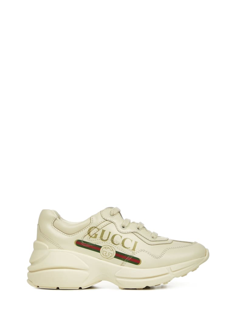 Gucci Junior Sneakers - Ivory