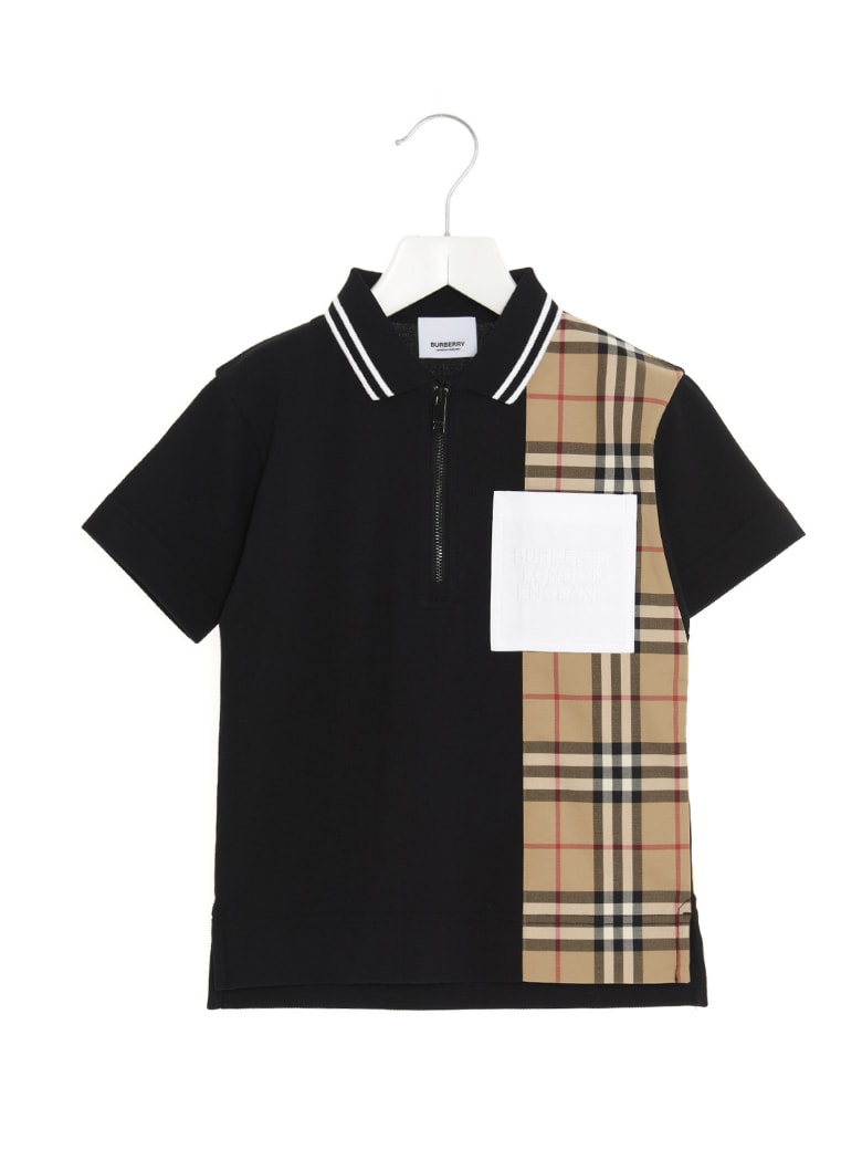 Burberry 'matthew' Polo - Black
