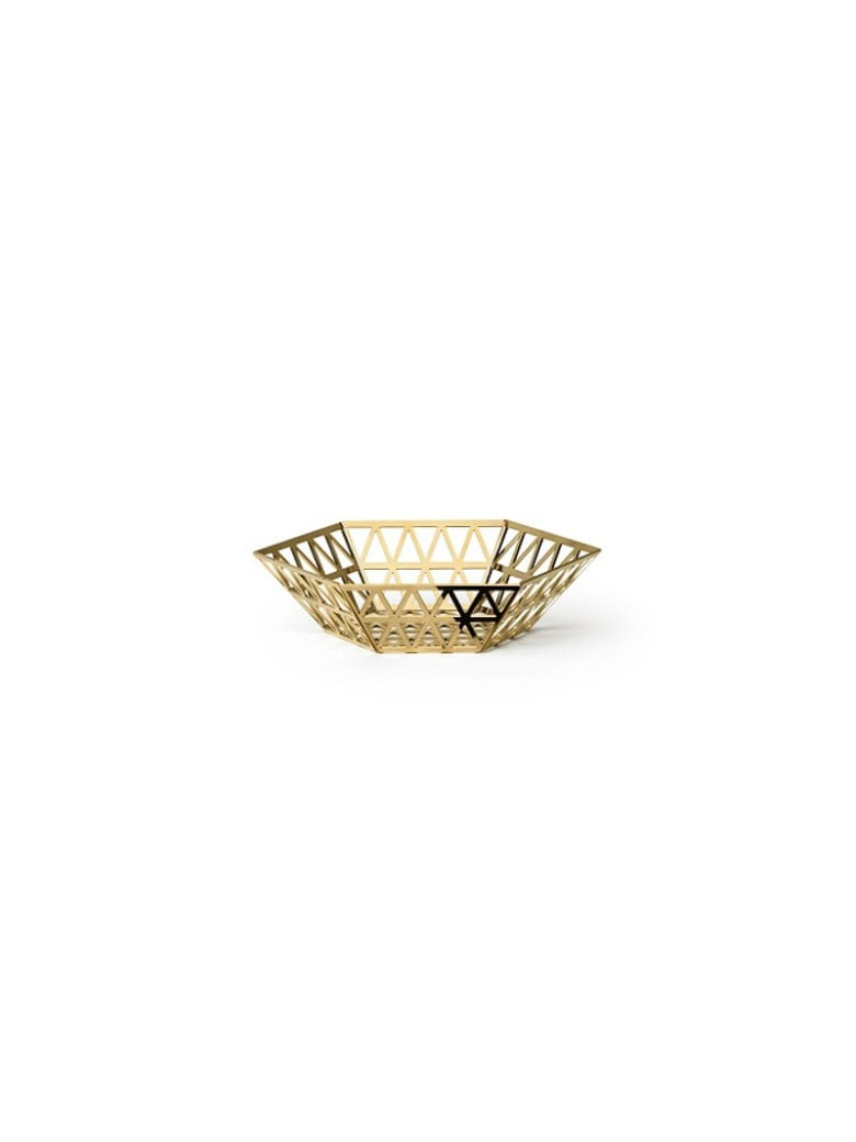 Ghidini 1961 Tip Top - Medium Tray Polished Gold - Polished gold