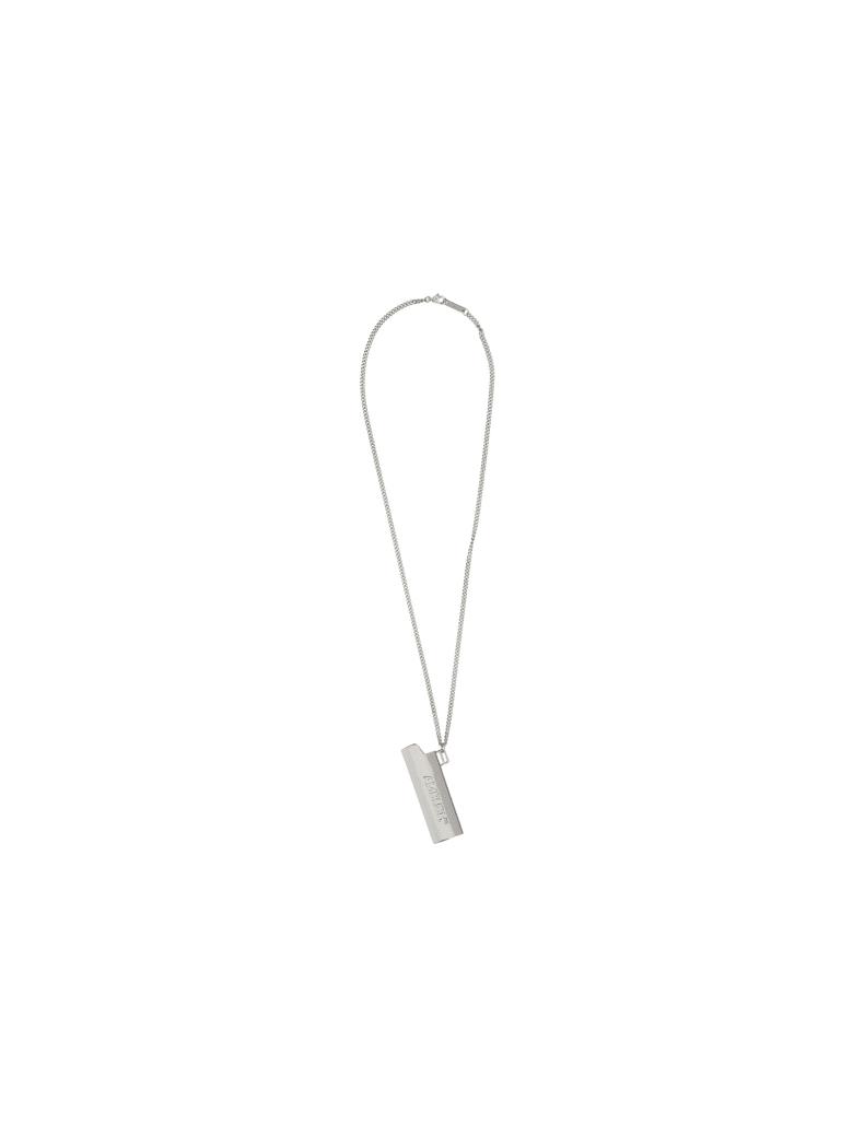 AMBUSH Abush Necklace - Silver silver