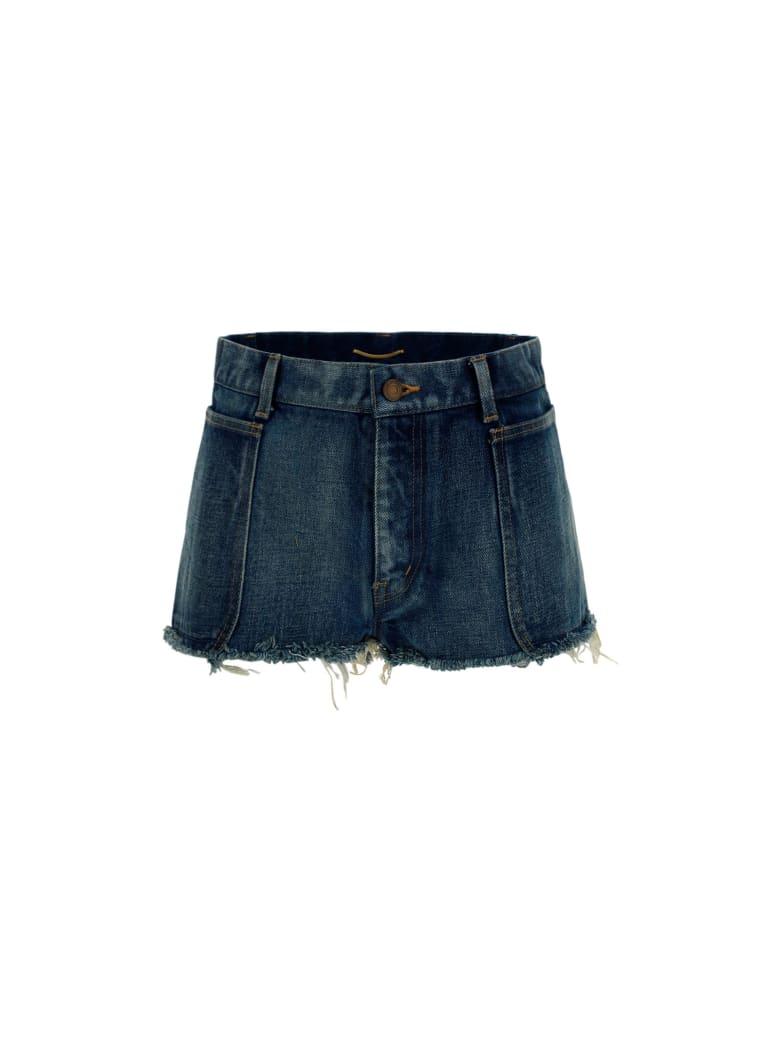 Saint Laurent Shorts - Denim blue