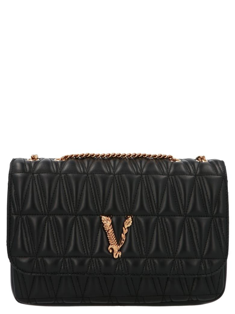 Versace 'v' Bag - Black