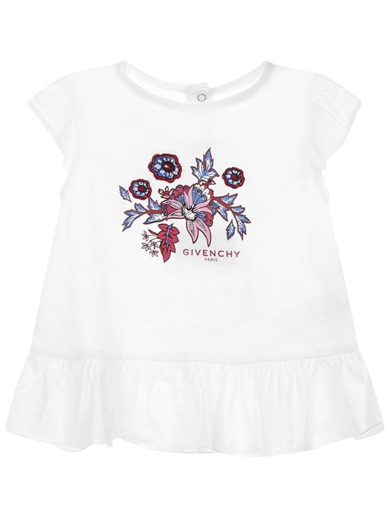 Givenchy Kids T-shirt - White