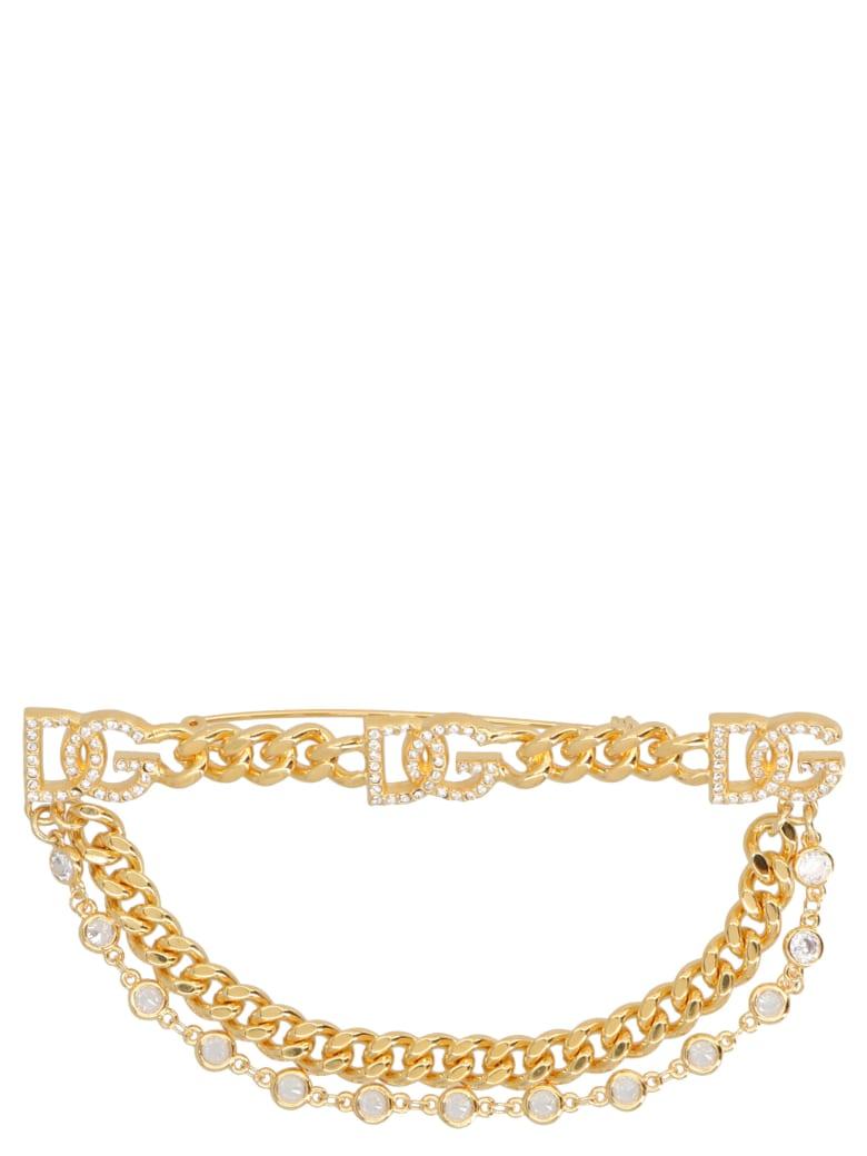 Dolce & Gabbana 'diva' Safety Pin - Gold