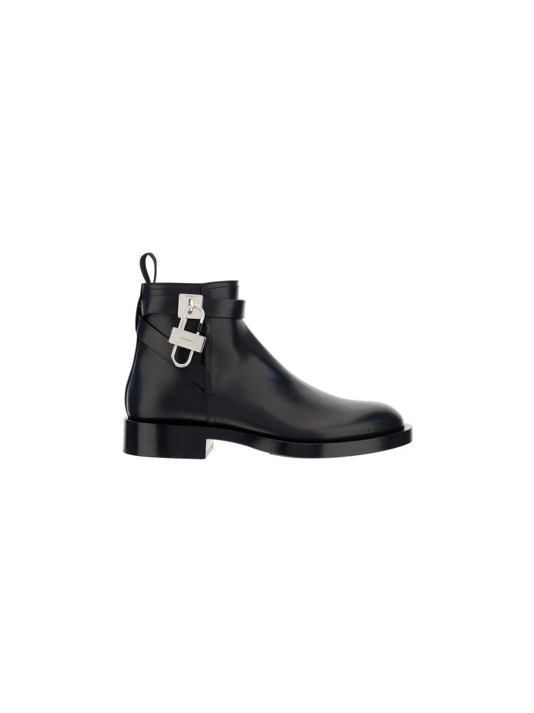 Givenchy Lock Boots - Nero