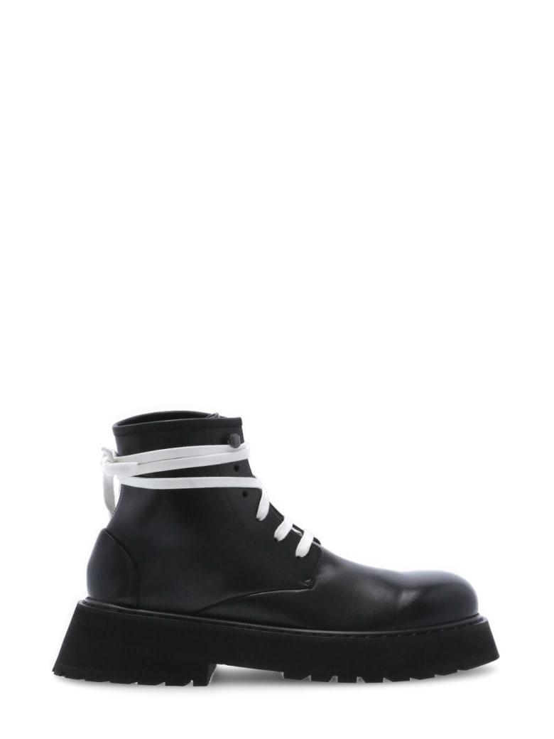 Marsell Leather Chukka Boot - Black