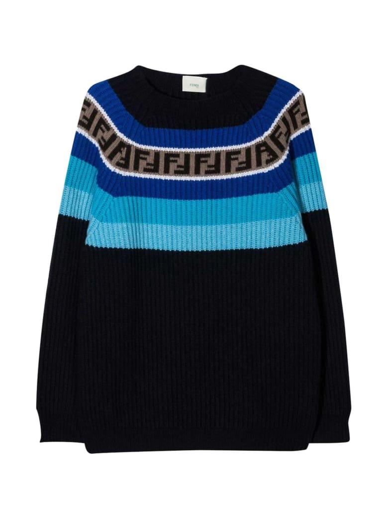Fendi Blue Sweater - Blu/azzurro