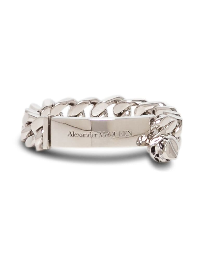 Alexander McQueen Identity Chain Bracelet - Metallic