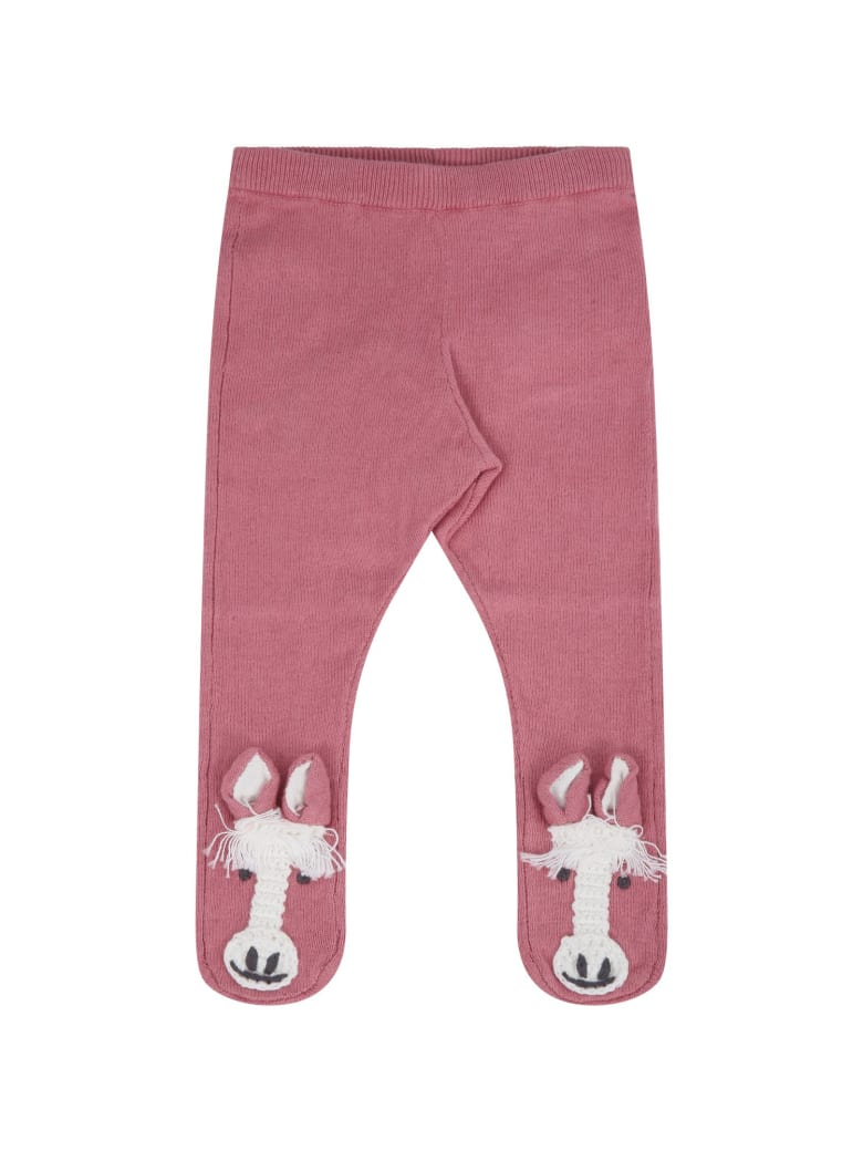 Stella McCartney Kids Pink Tights For Babygirl - Pink
