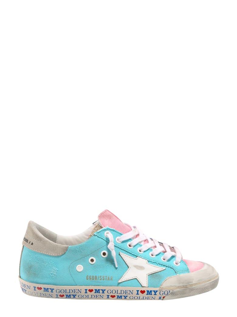 Golden Goose Super Star Sneakers - Blue