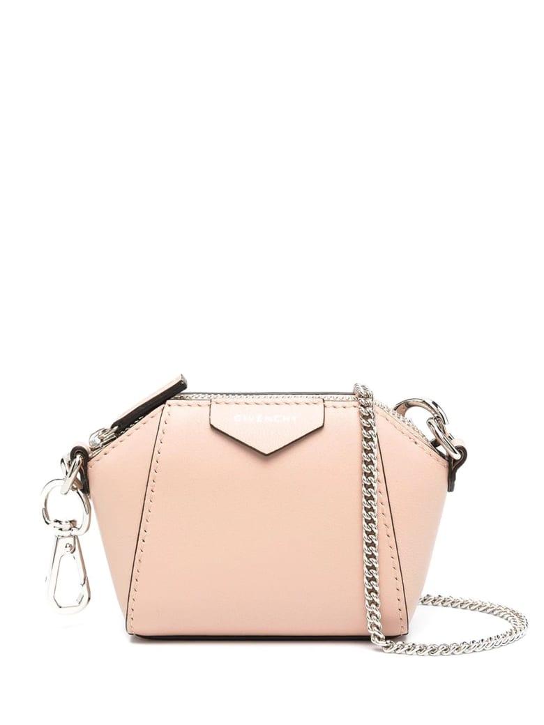 Givenchy Nude Baby Antigona Bag With Chain