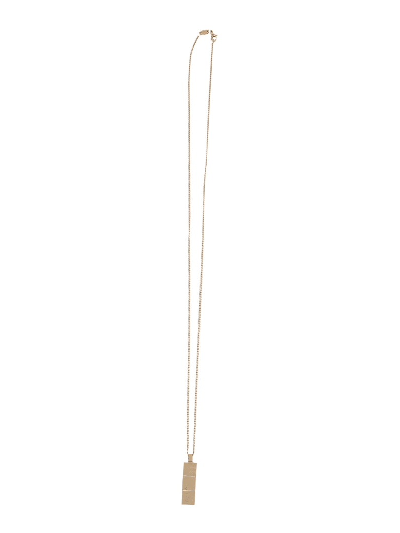 Northskull Necklace With Tag Layers - ORO
