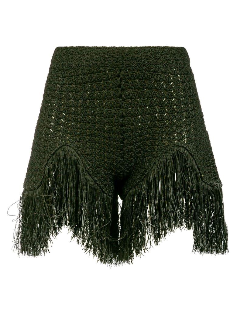 Alanui Desert Summer Shorts - Green
