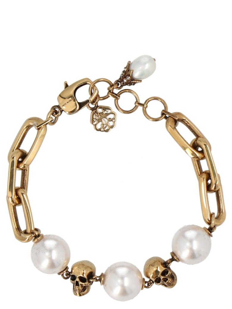 Alexander McQueen Bracelet - Gold