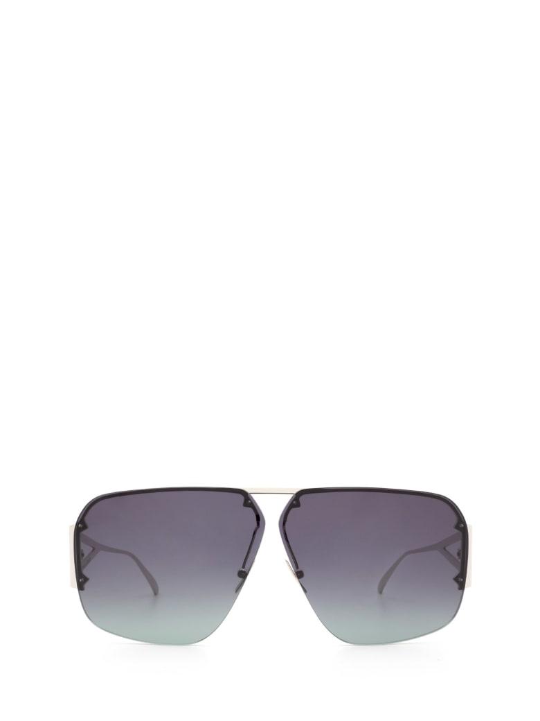 Bottega Veneta Bottega Veneta Bv1065s Silver Sunglasses - Silver