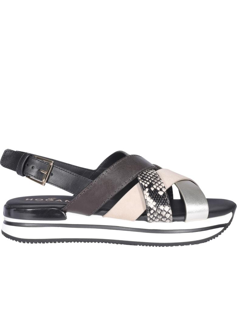 Hogan H222 Sandals - Blu