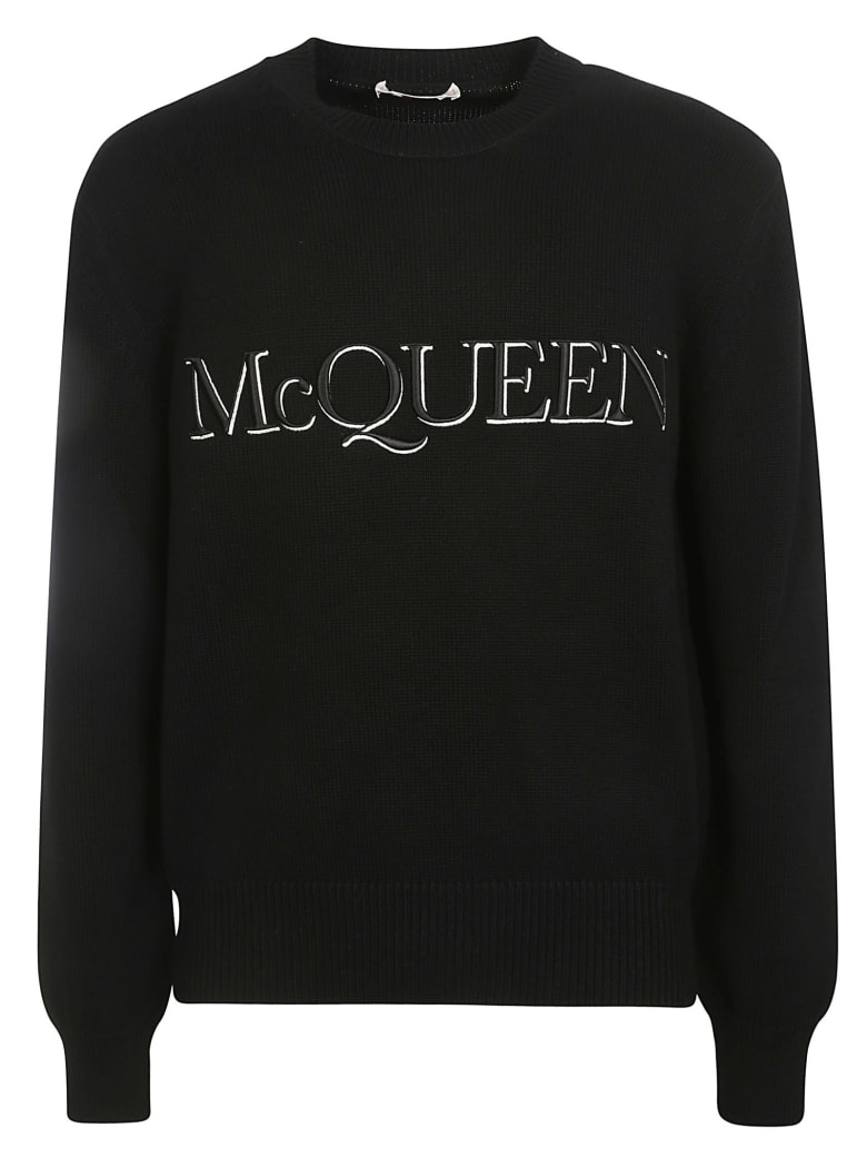 Alexander McQueen Logo Sweatshirt - Black/White