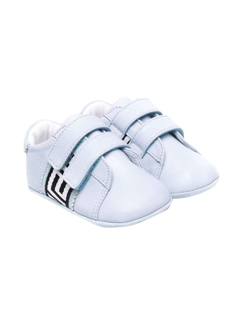Versace Young Baby Girl Blue Shoes - Azzurro