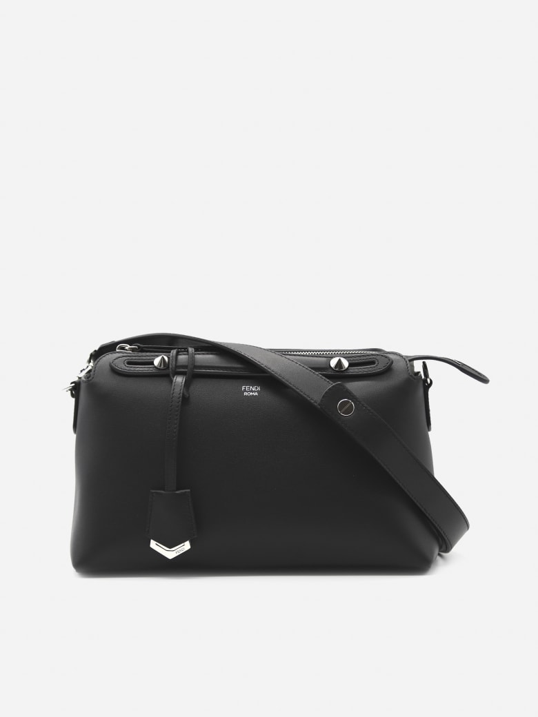 Fendi Medium Bag By The Way In Leather - Black
