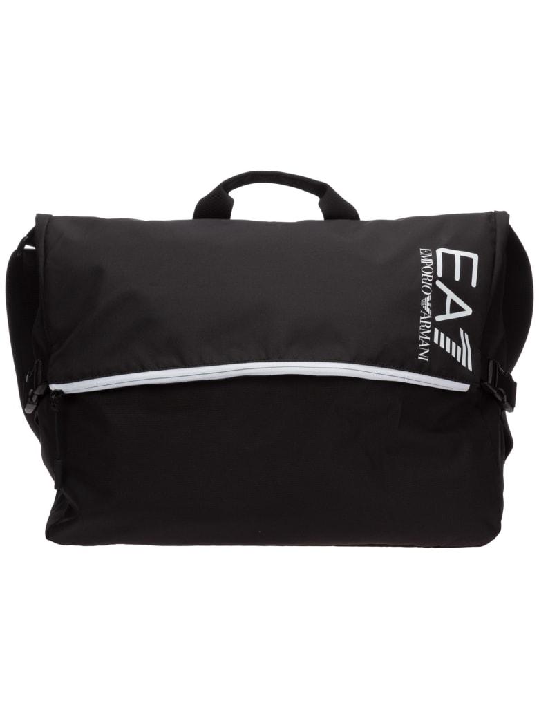 EA7 Emporio Armani C2 Ultimate Crossbody Bags - Nero