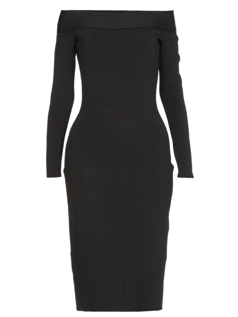 Victoria Beckham Bardot Dress - BLACK