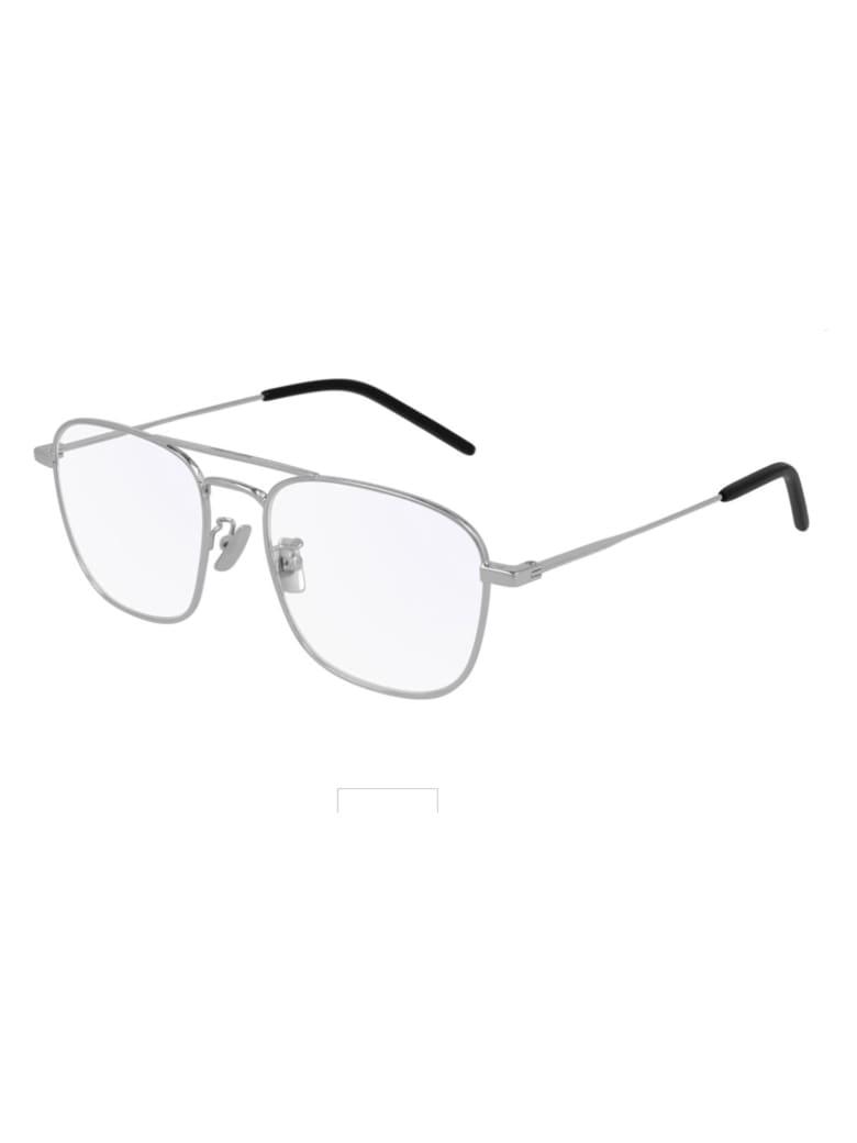 Saint Laurent SL 309 OPT Eyewear - Silver Silver Transpa