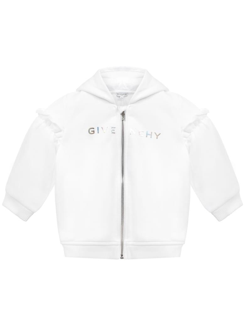 Givenchy Kids Sweatshirt - White