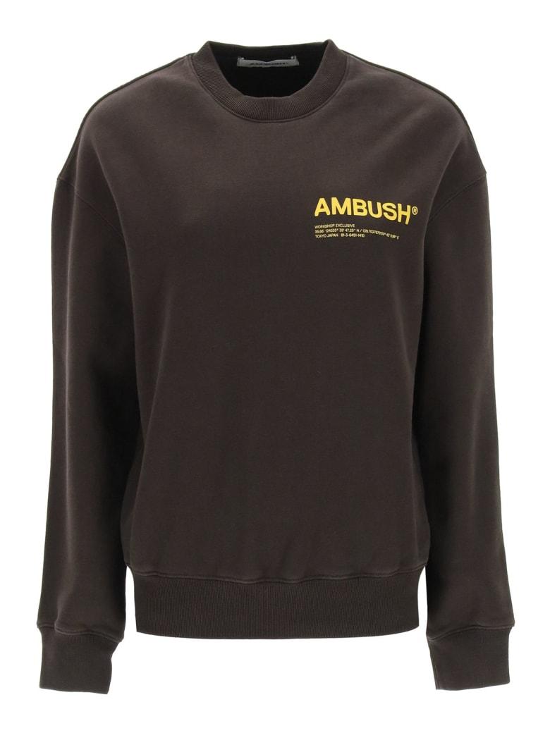 AMBUSH Crewneck Sweatshirt - Marrone