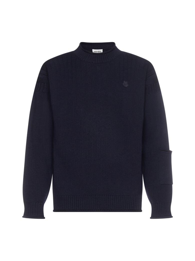 Kenzo Sweater - Bleu noir
