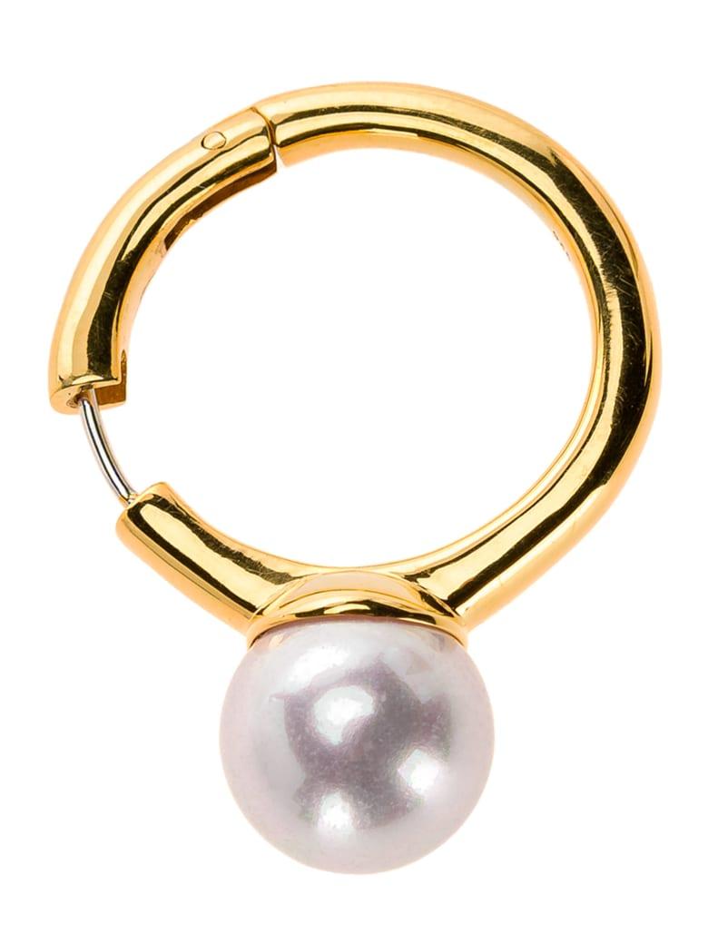 AMBUSH Pearl Ring Earring - GOLD