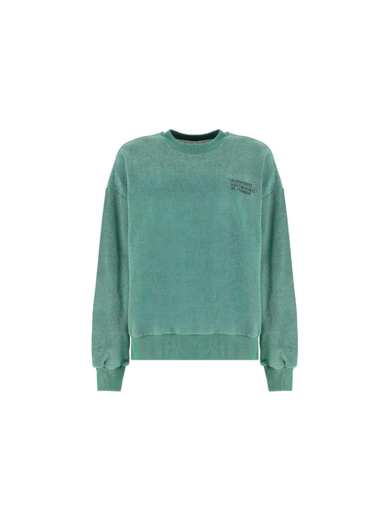 Golden Goose Delvina Sweatshirt - Lily pad/black