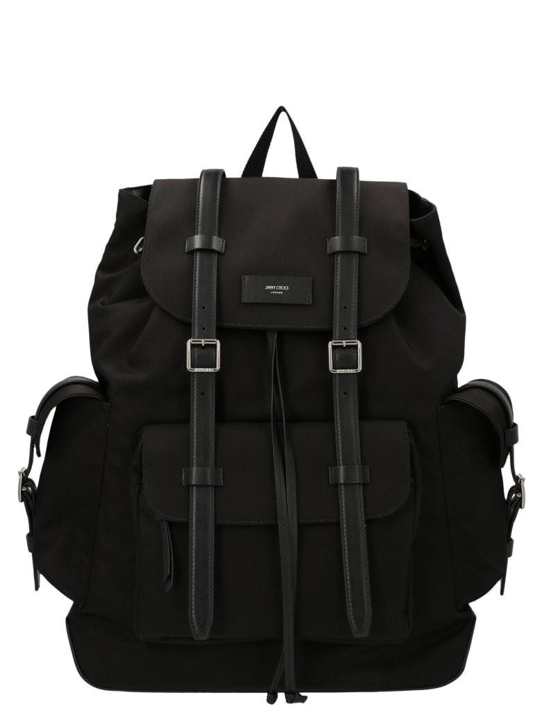 Jimmy Choo 'filmore' Backpack - Black