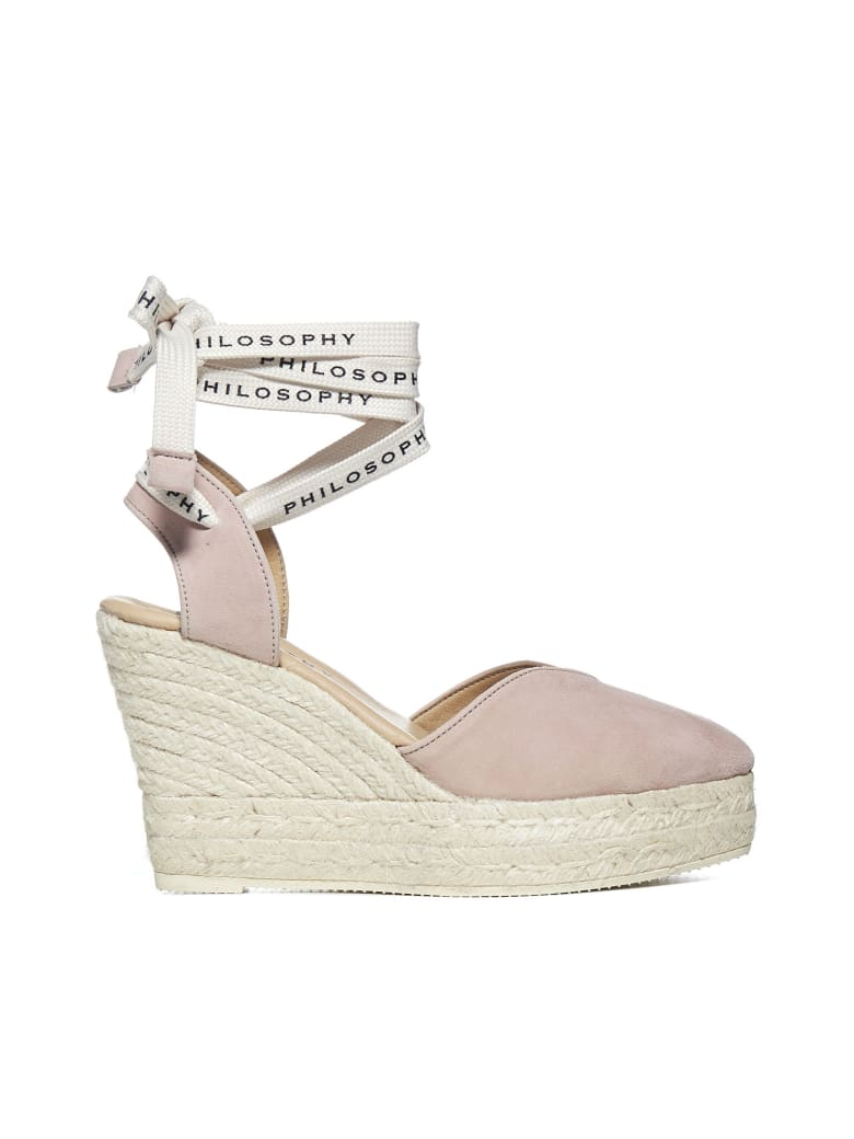 Philosophy x Manebí Sandals - Pink