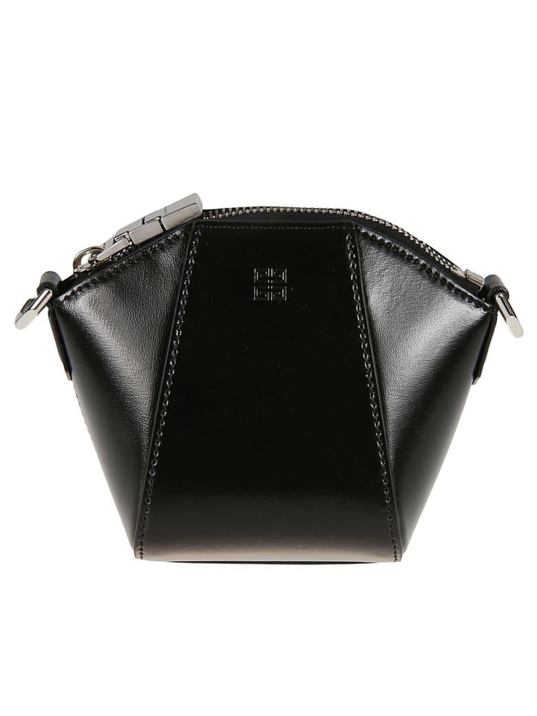 Givenchy Large Zip Crossbody Bag - Black