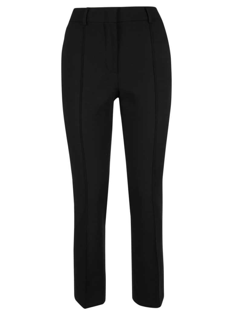 SportMax Classic Fitted Trousers - Black