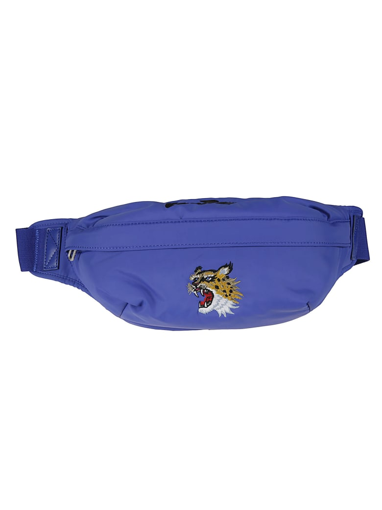 Kenzo Embroidered Belt Bag - Blue