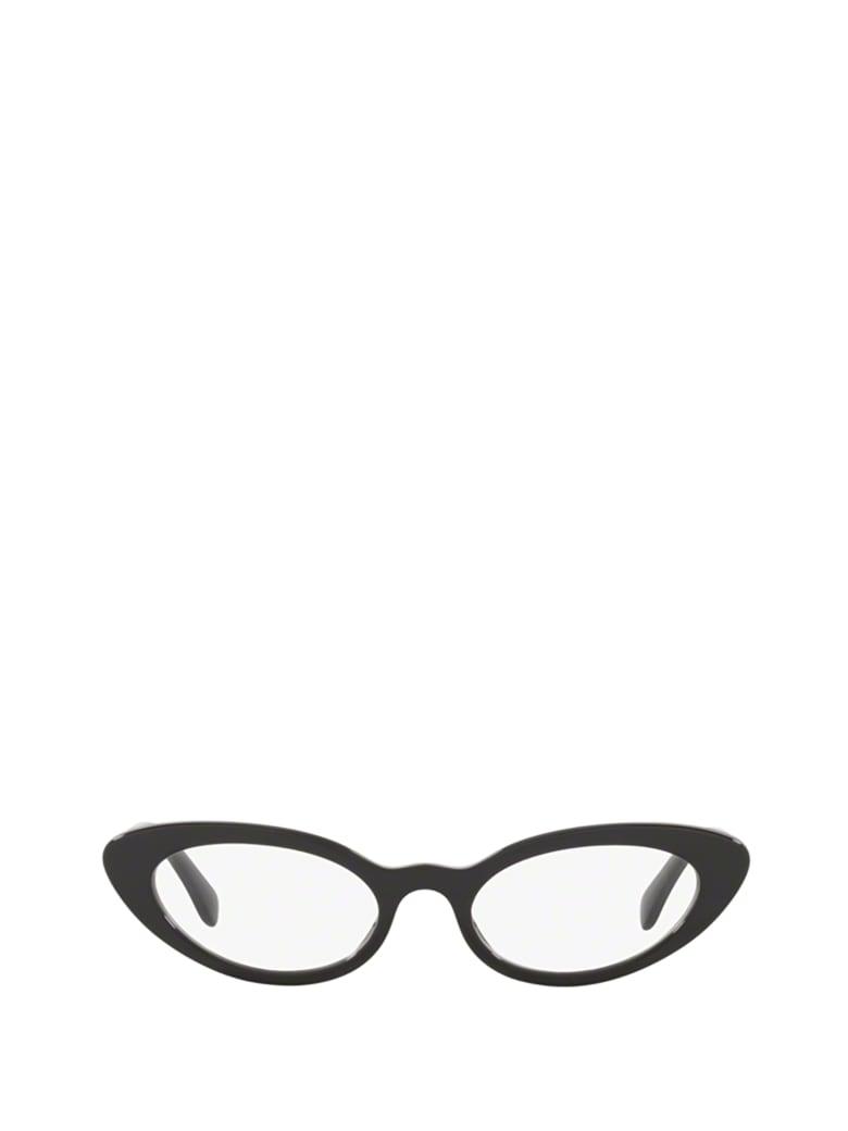 Miu Miu Miu Miu Mu 01sv Black Glasses - BLACK