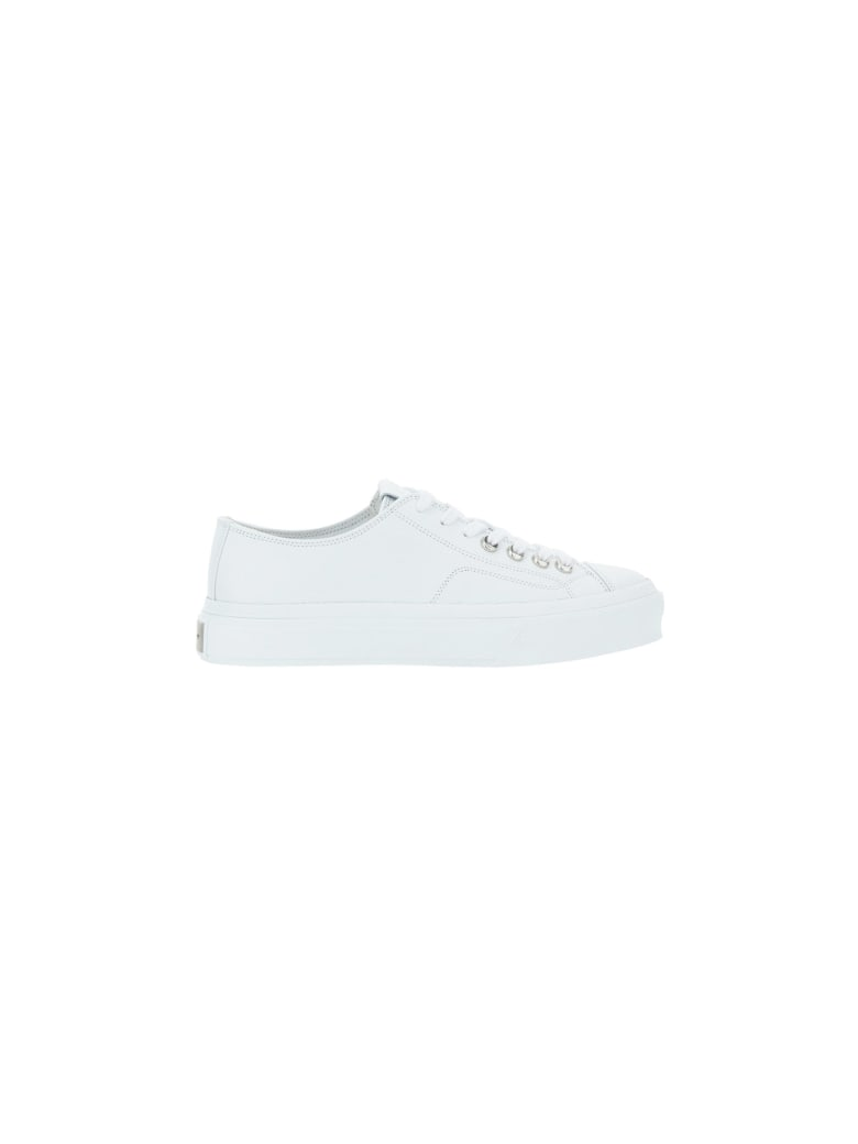 Givenchy City Low Sneakers - White