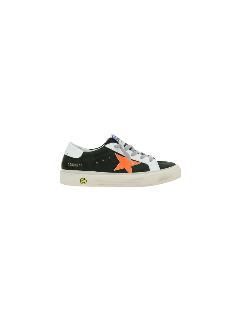 Golden Goose May Sneakers For Teen - Military