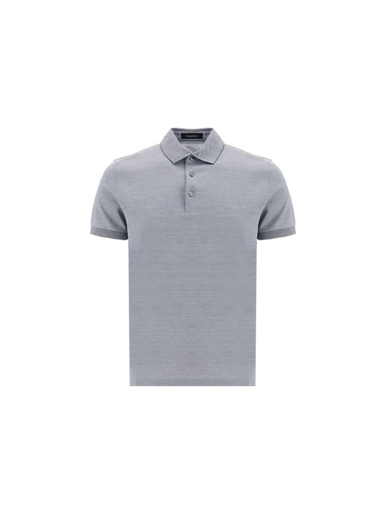 Ermenegildo Zegna Polo Shirt - Grey