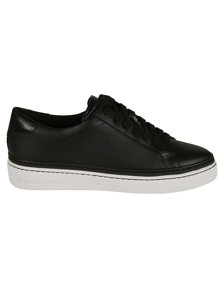 Michael Kors Chapman Lace-up Sneakers - Black