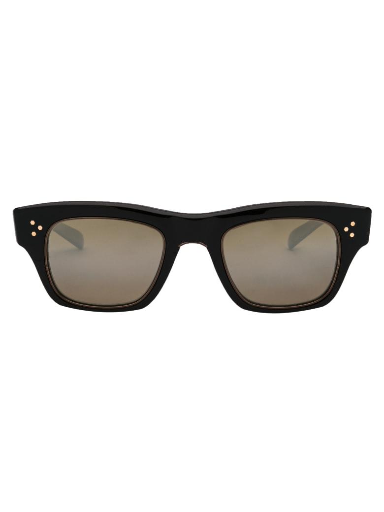Garrett Leight Go S 48 Sunglasses - CGNAC-CG/SMKYGLSSPLR