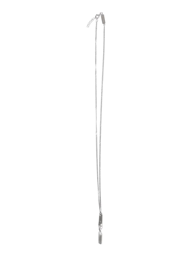 Maison Margiela Silver Necklace - ARGENTO
