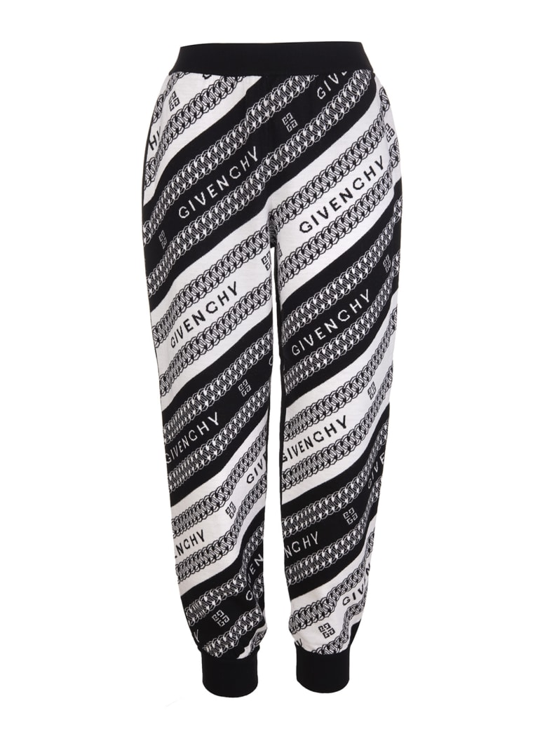 Givenchy Intarsia-knit Logo Trousers