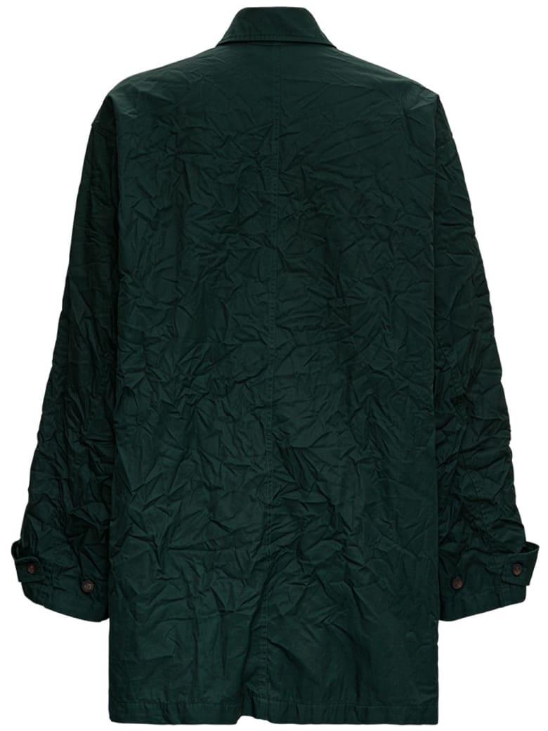Balenciaga Green Oversize Parka - Green