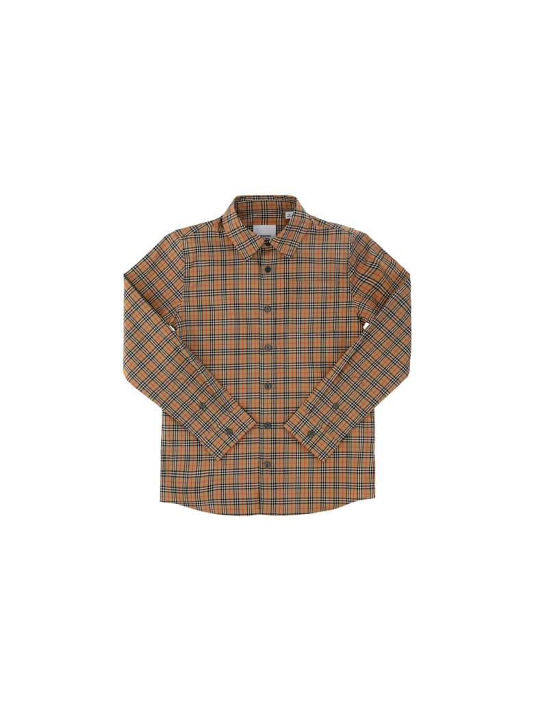 Burberry Owen Shirt For Boy - Beige