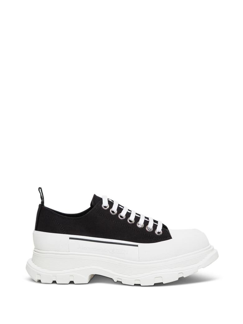 Alexander McQueen Tade Slick Fabric Sneakers - Black