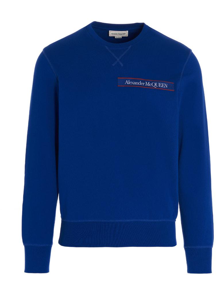 Alexander McQueen Sweatshirt - Blue
