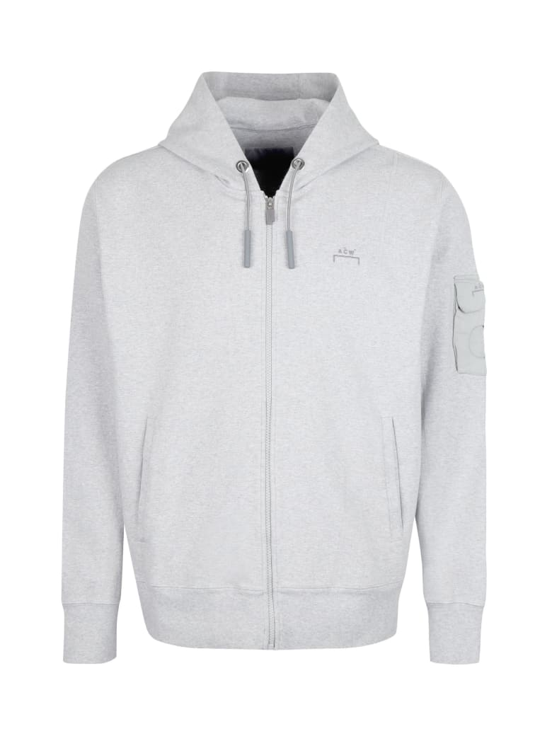 A-COLD-WALL Full Zip Hoodie - grey
